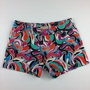 Banana Republic psychedelic print colorful shorts